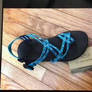 Chaco print sandal 10